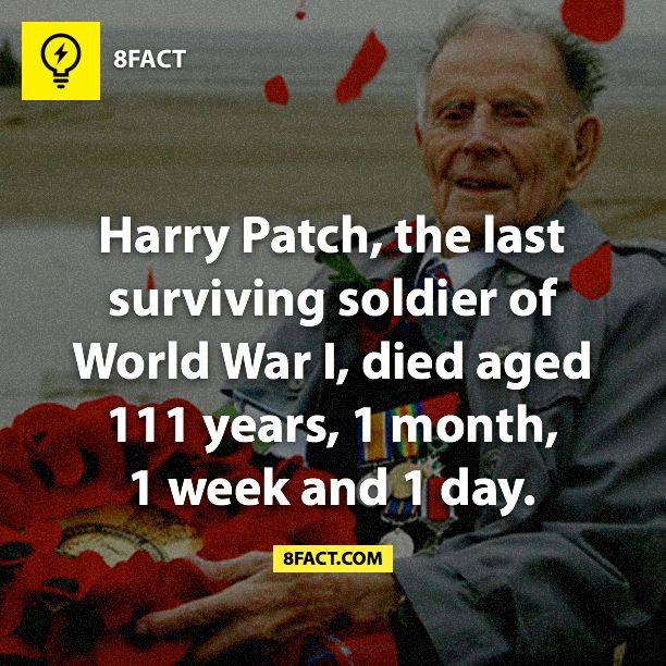 WW1 - Harry Patch | Fun facts | Pinterest | Old mans, Rest ...