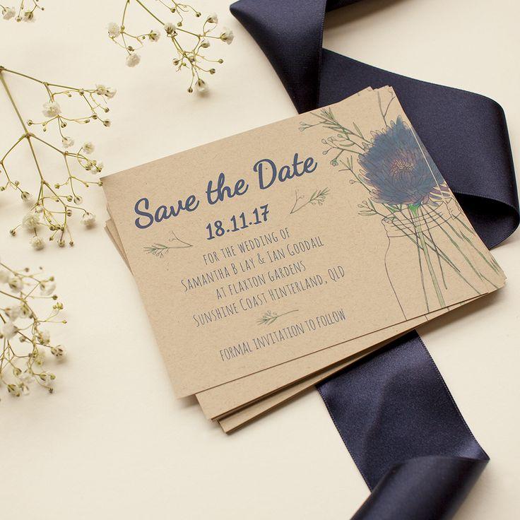 373 best Botanical & Floral Wedding Invitations images on Pinterest ...