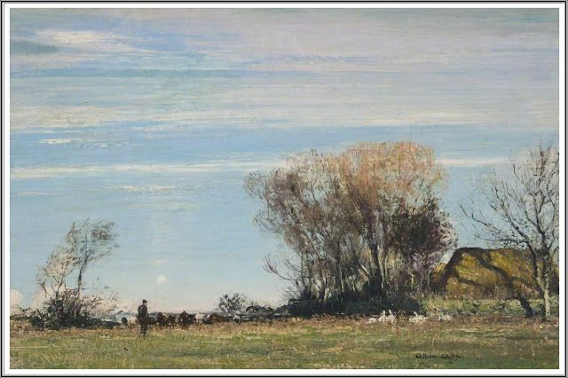 William Page Atkinson Wells (1872-1923), A Sunny Meadow.