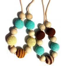 Collares de colores hechos con tejidos sostenibles #Graziella