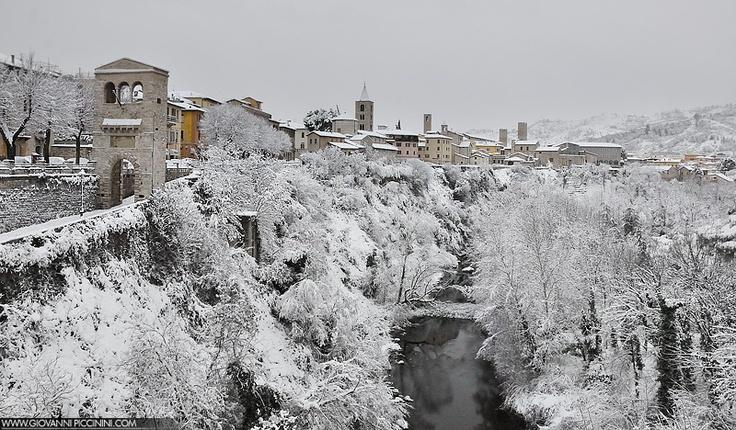 Ascoli Piceno snow 2012