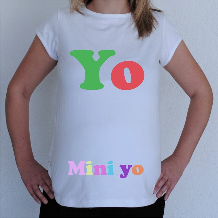 Camisetas para Embarazadas Divertidas - Mini yo