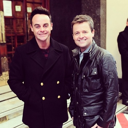 Aww arent they cute - Ant and Dec
