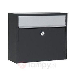 Elegancka skrzynka pocztowa LT150 bezpieczne & wygodne zakupy w sklepie internetowym Lampy.pl.