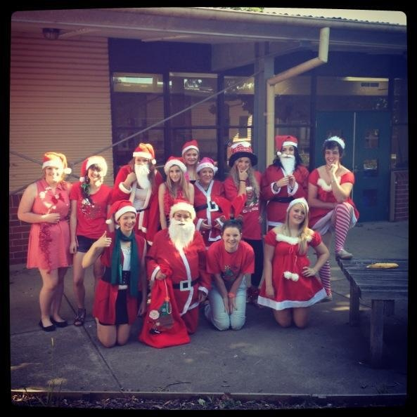 Christmas dress up day at MNSC