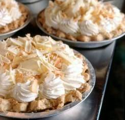 "'This is bar none the best Coconut Creme Pie I have ever had in my life!  It's at the Dahlia Lounge in Seattle which is same restaurant shown in the movie ""Sleepless in Seattle"".'"
