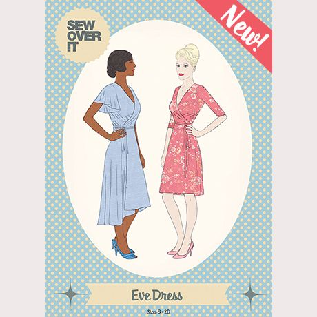 Eve Dress Sewing Pattern | Sew Over It