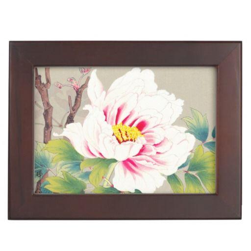 Zuigetsu Ikeda Pink Camellia japanese flower art Keepsake Box