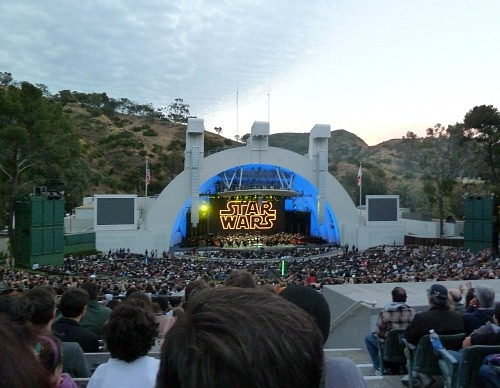 Star Wars in Concert at the Hollywood Bowl.