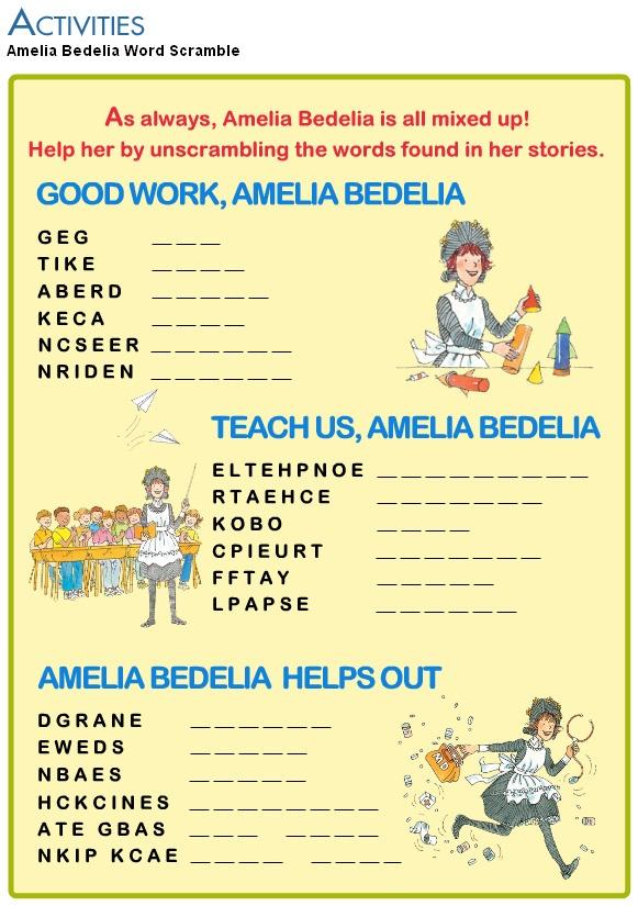 47 best Amelia Bedelia images on Pinterest | Amelia bedelia ...
