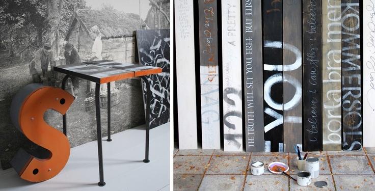 store fotografier i svart hvitt på veggene i lokalsamlingen - ide fra Ylva Skarp http://www.webbshop.ylvaskarp.se/