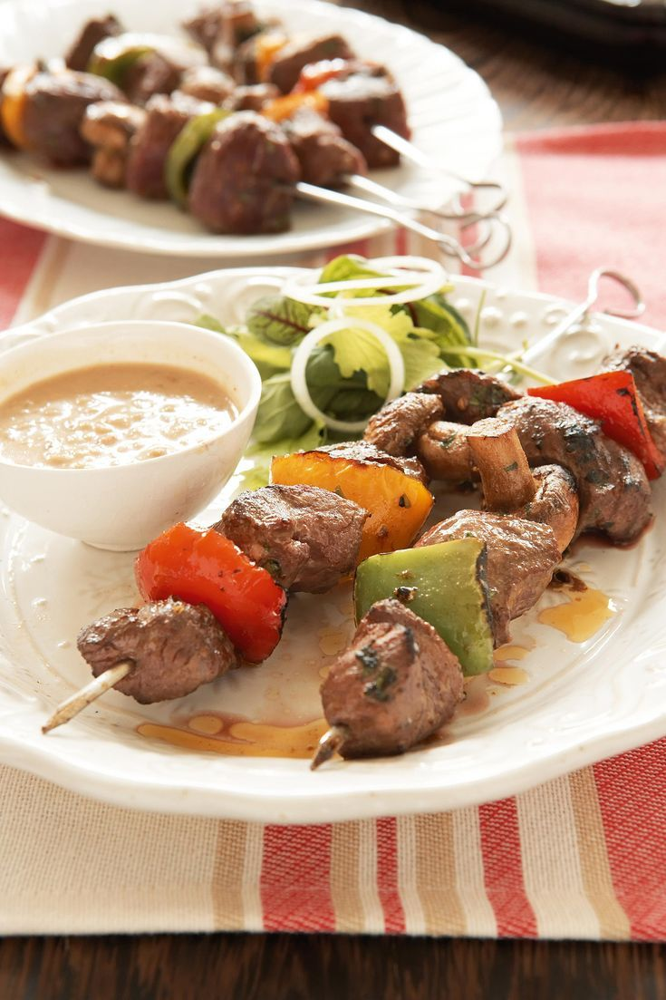Grilled Ostrich Kebabs Recipe