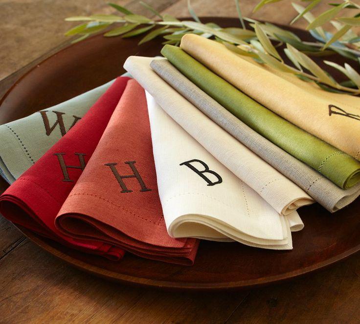 PB Classic Linen Napkin, Set of 4  |  Pottery Barn Australia