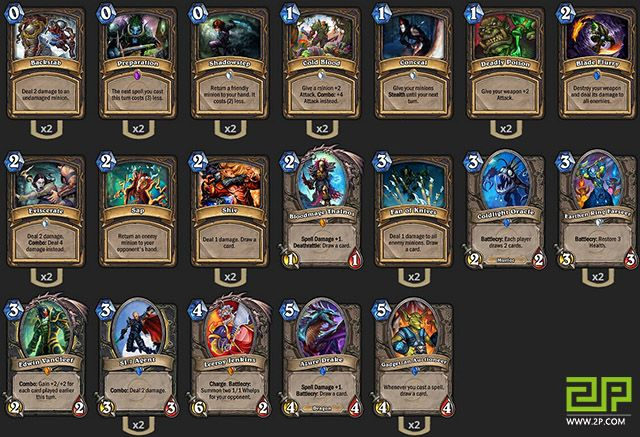 Trump's Miracle Rogue Gameplays - Hearthstone: Heroes of Warcraft - hub - 2P.com