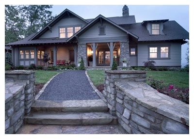 592 best images about craftsman homes on pinterest house for Southern living craftsman house plans