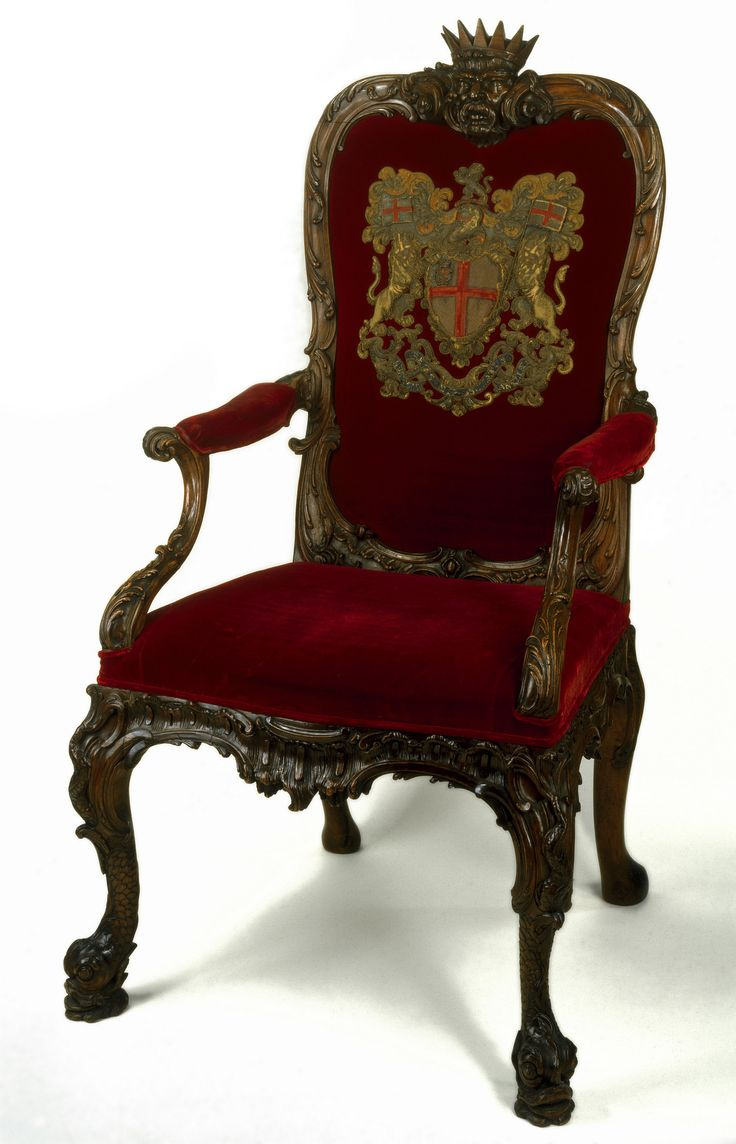 'The seat of the chairman of the court of directors of the East India Company'