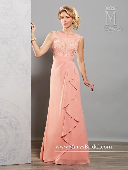 Chiffon A-Line Mother of the Bride Gown M2718