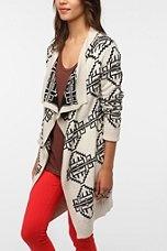 Urban Outfitters - Staring At Stars Reversible Intarsia Knit Cardigan, $79