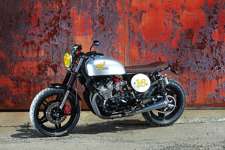CB550 Street Tracker | Project Honda 79' CB650 | Pinterest ...