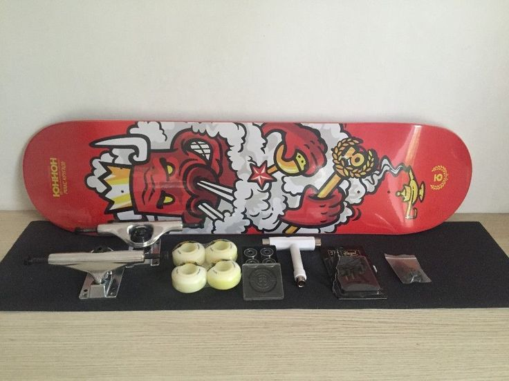 """2016 Complete skateboard with Brand UNION deck 8"""" with skateboard parts combination in best price for element bearing and wheels #deckbuildingcost #deckprices"""