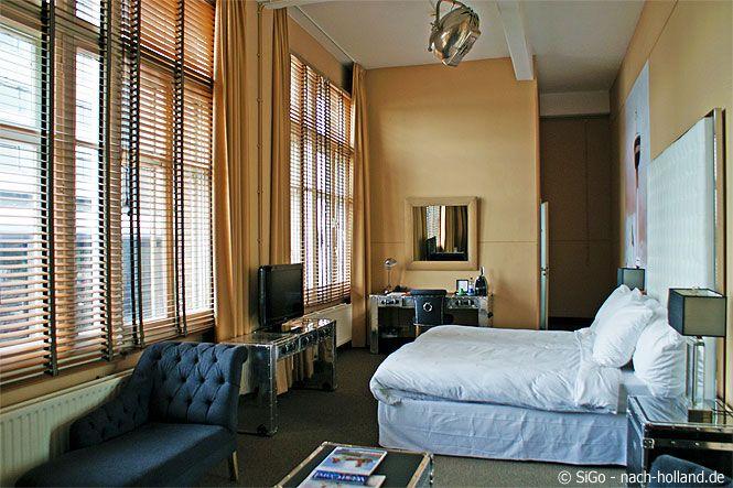 Unser wunderschönes Zimmer im Hotel New York in Rotterdam, einem Hotel mit Charme und Geschichte.