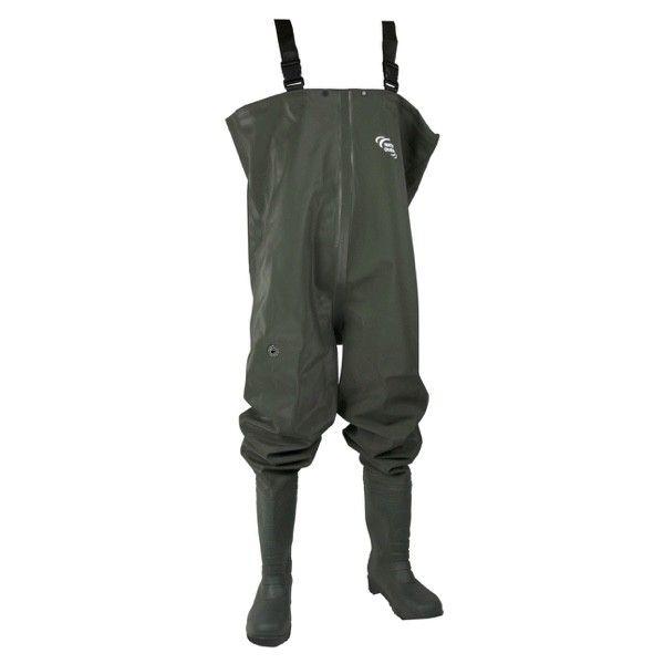 Waders avec bottes PVC Waterqueen - Leurre de la pêche