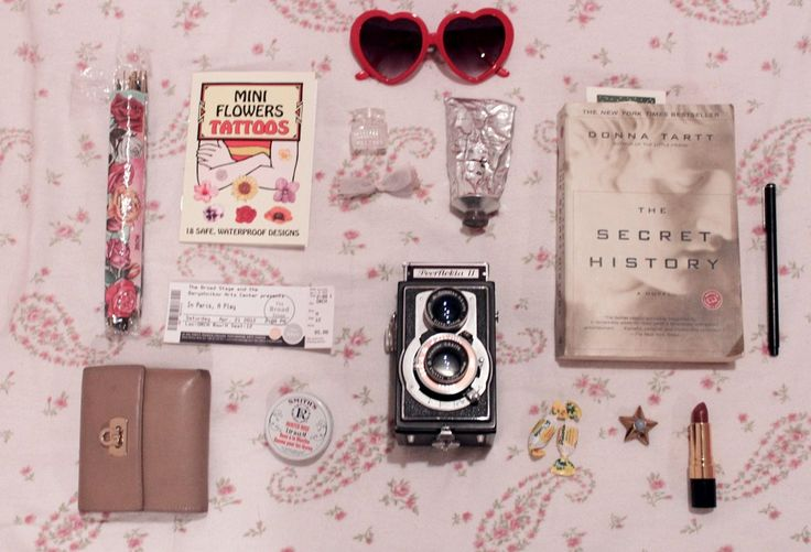 """(For the anonymous who asked """"what's in your bag this very second?"""") by lecerise"""