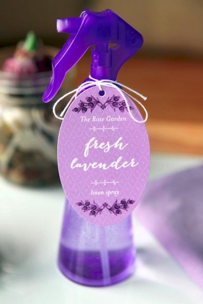 DIY Lavender Pillow Spray Recipe