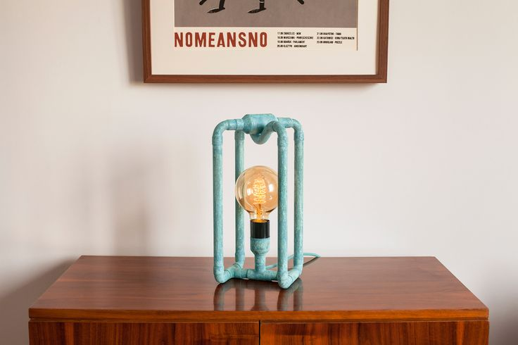 This beautiful lamp looks perfect in almost any interior - colorful or cold, you name it! See more at www.zapalgo.com