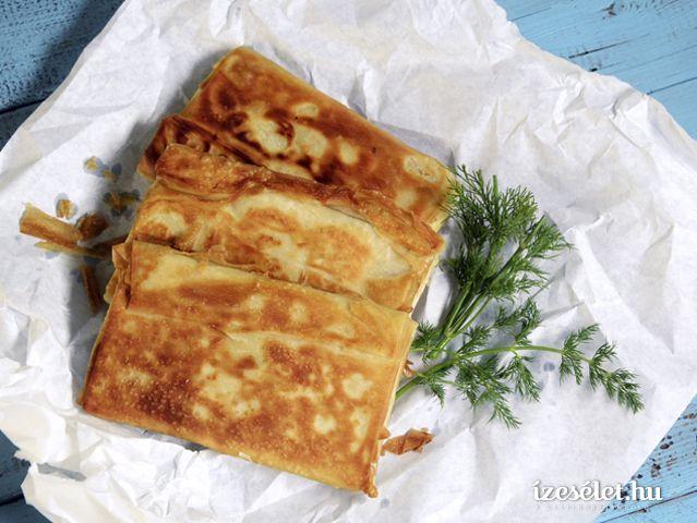 Serpenyős, fetás börek