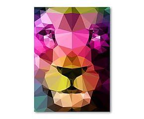 Stampa digitale Wild Neon auf Leinwand - 40x60 cm