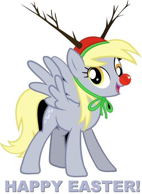 Derpy Hooves! Happy Easter!