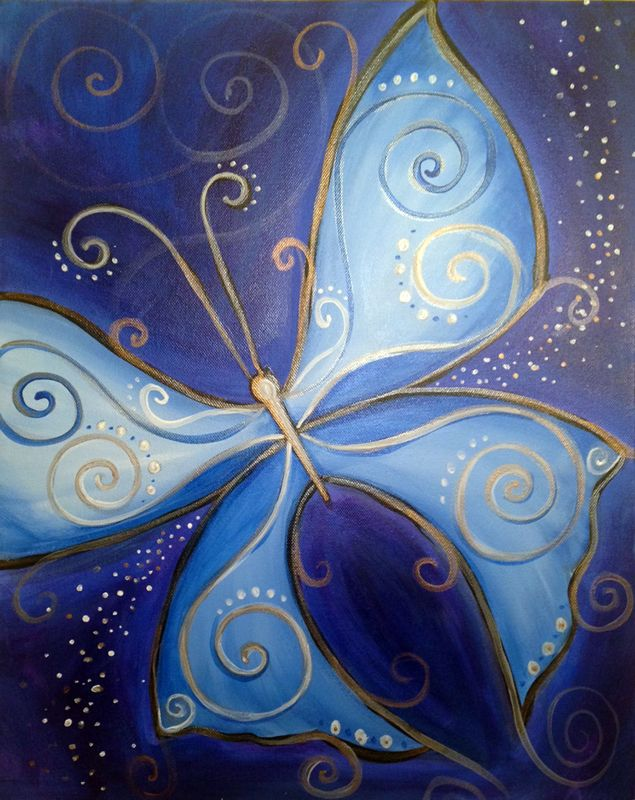 25 Best Ideas About Butterfly Canvas On Pinterest