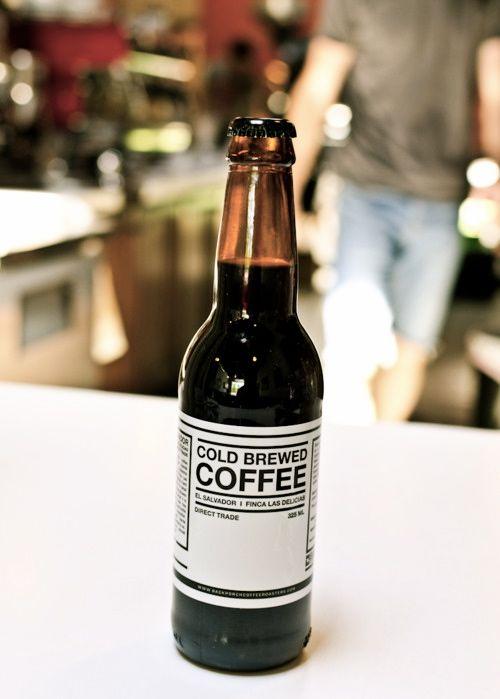 cold brewed coffee |   via handcraftedinvirginia