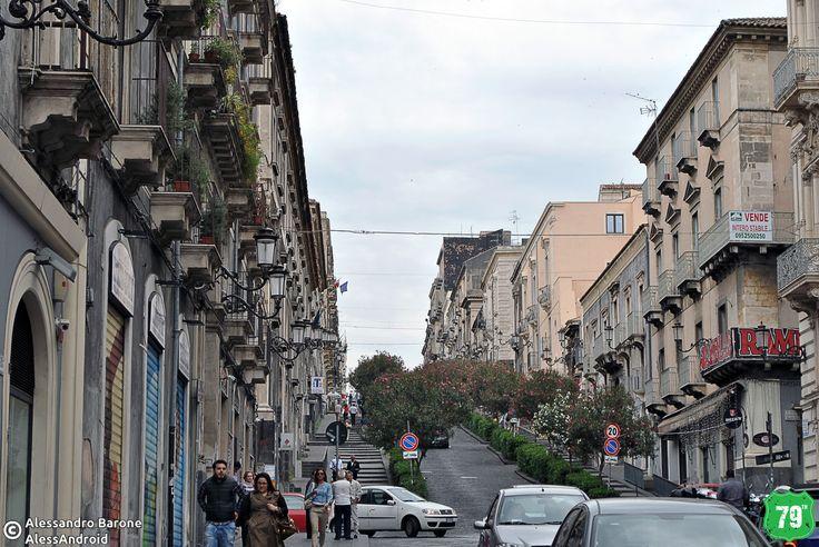 Via Antonino di San Giuliano #Catania #Sicilia #Italia #Italy #Viaggio #Viaggiare #Travel #AlwaysOnTheRoad