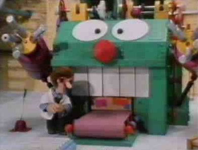 Was afraid of this thing, Bertha!
