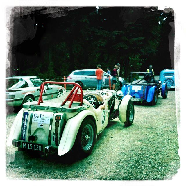 Hansson-Team at Munkebjerg Hillclimb - nice day, no crash :)