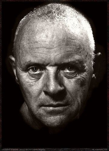 Anthony Hopkins | Photo by Helmut Newton