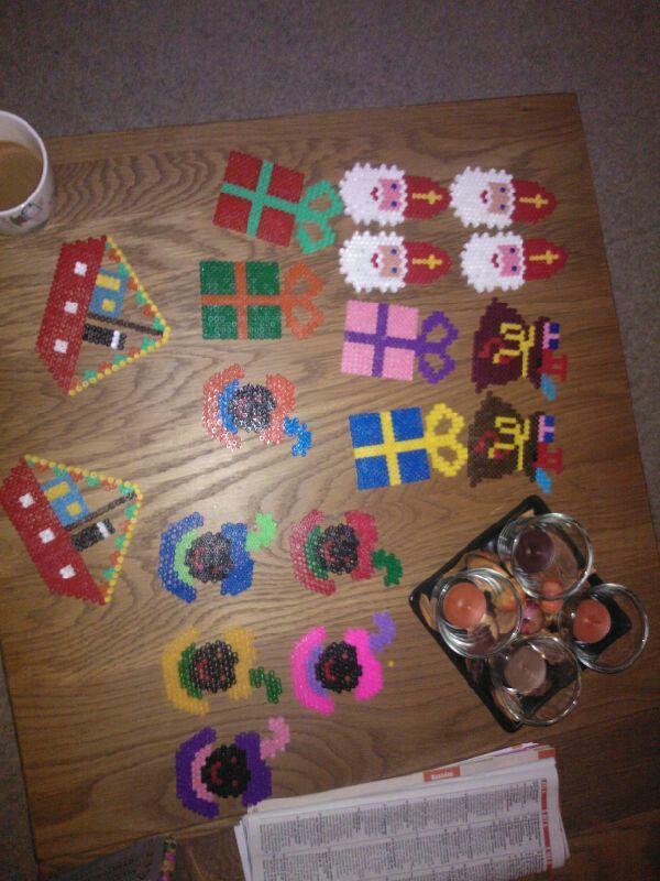 Sinterklaas strijkkralen