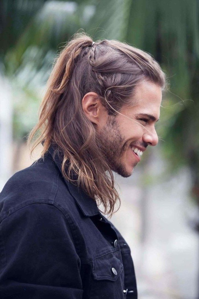 50 Cool Man Braid Hairstyles For Men Braid Styles For Men Braids For Long Hair Long Hair Styles Men