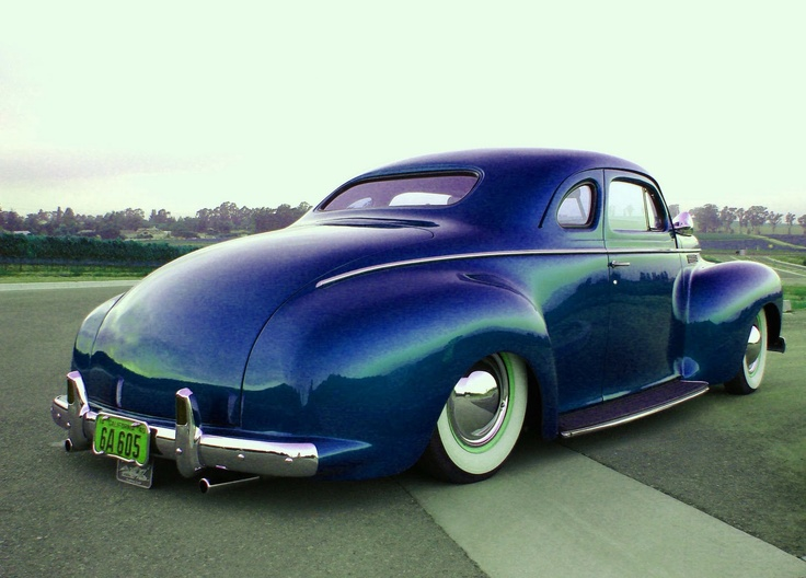 1940 Chrysler - cool color combo