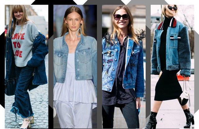 Jaqueta jeans (Foto: Arte Vogue Online)