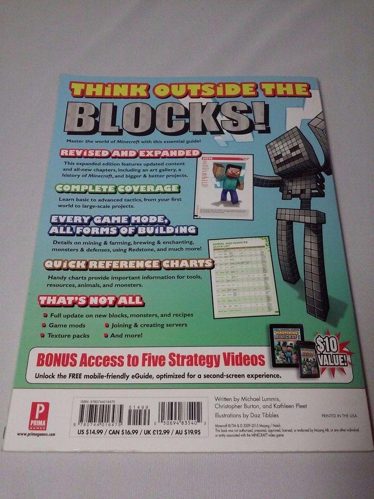 Minecraft Survival Guide Book