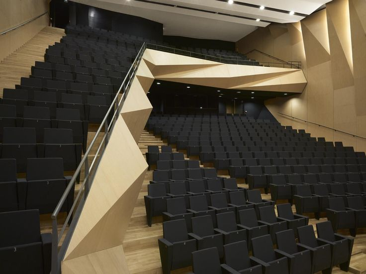 Aix en Provence Conservatory of Music,© Roland Halbe