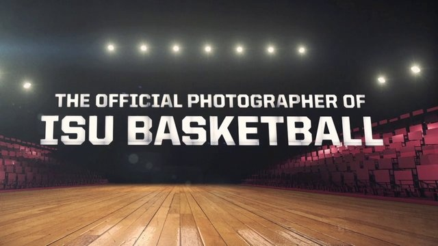 McStudio promo animation for ISU Basketball jumbotron