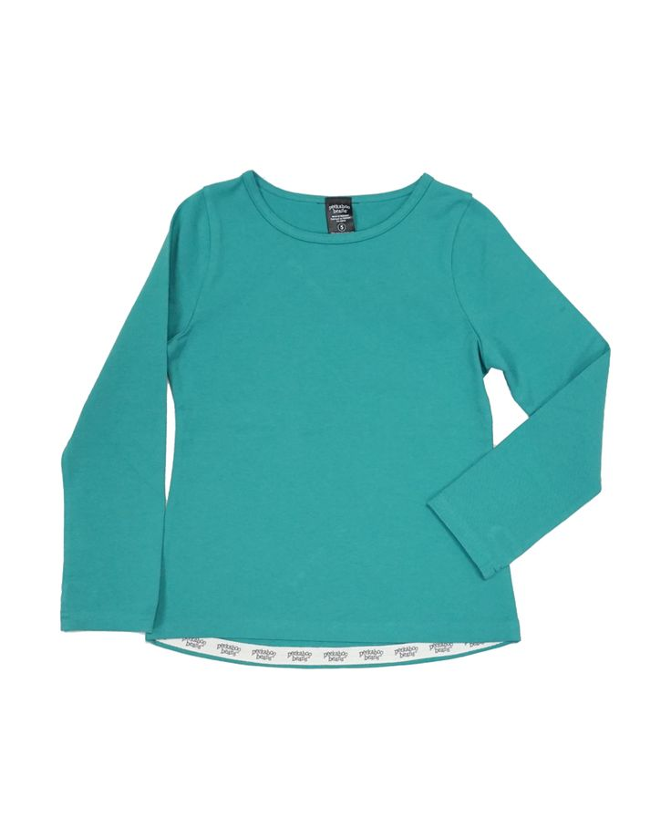This long-sleeved tee is a wardrobe staple. It's back this season in three brand new colours.