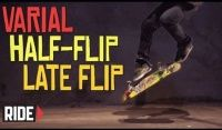 Vídeos Slow Motion: Chris Haslam Varial Half Flip Late Flip -  Skateboarding em Slow Motion com o skatista lendario Chris Haslam como já é comum na serie da ride channel sempre rola um late flip desta vez é um Varial Half Flip Late Flip se liga só em câmera lenta.