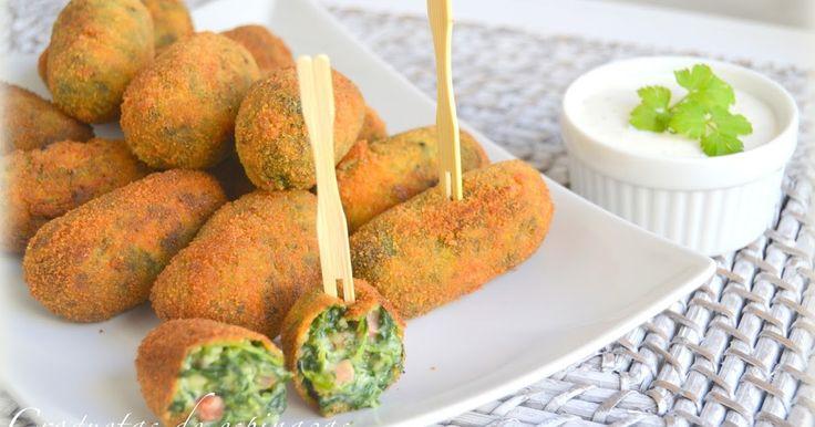 Croquetas de espinacas         | CocinaconMarta.com