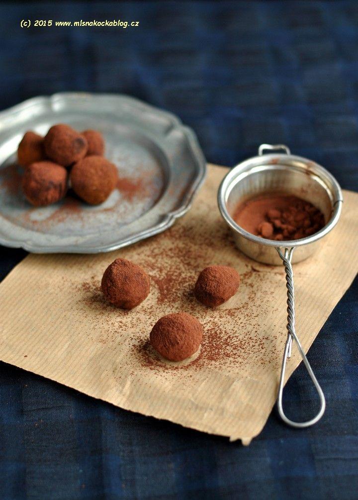 Čokoládové lanýže (tři druhy)   Blog Mlsné Kočky