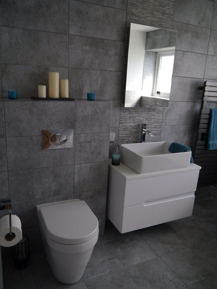 Grey Amp White Ensuite Bathroom All Bathstore Bayou